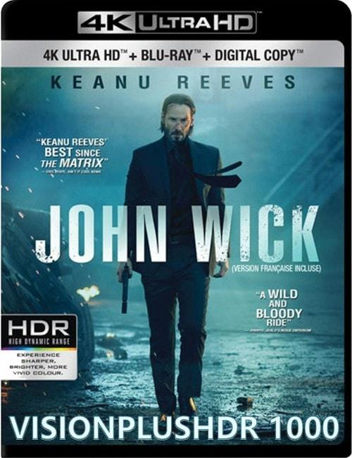 John Wick 2014 4K HDR HEVC 10bit BT2020 Dolby Atmos True HD
