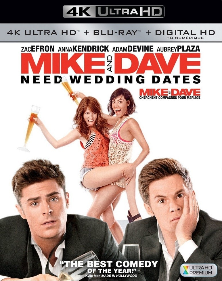 Mike and Dave Need Wedding Dates 2016 Multi 4K