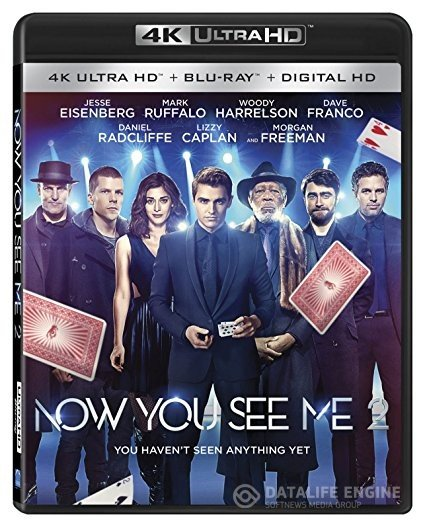 Now You See Me 2 (2016) 2160p 4K UltraHD BluRay x265 10bit DTSHD 7.1