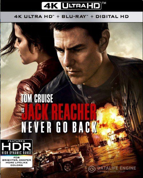 Jack Reacher Never Go Back (2016) Multi 4K UHD 2160p HEVC 10 Bits ATMOS 7.1