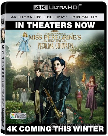 Miss Peregrine's Home for Peculiar Children (2016) Multi 4K UltraHD Blu-Ray x265 (HEVC 10 Bits) DTSHD 7.1