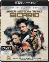Sicario 4K Bluray 2014