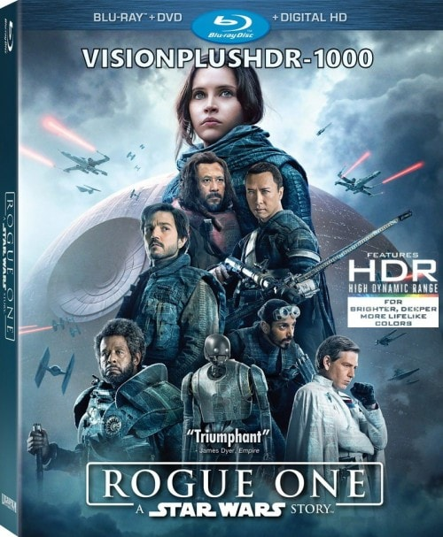 The Rogue One: A Star Wars Toy Story 4K HDR 10bit BT2020 Chroma 422 Edition DTS HD