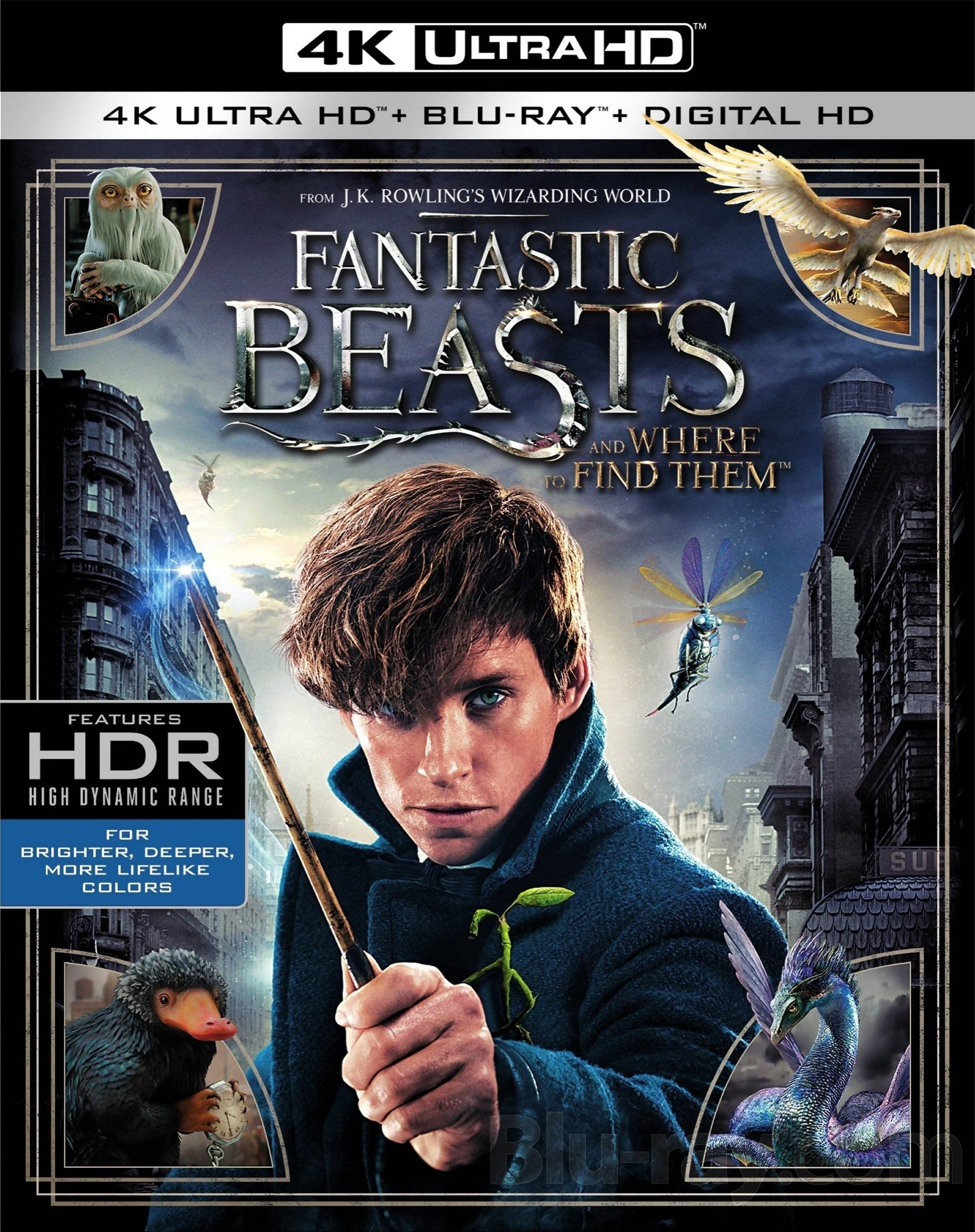 Fantastic Beasts and Where to Find Them 2016 Multi 2160p UHD BluRay HEVC HDR