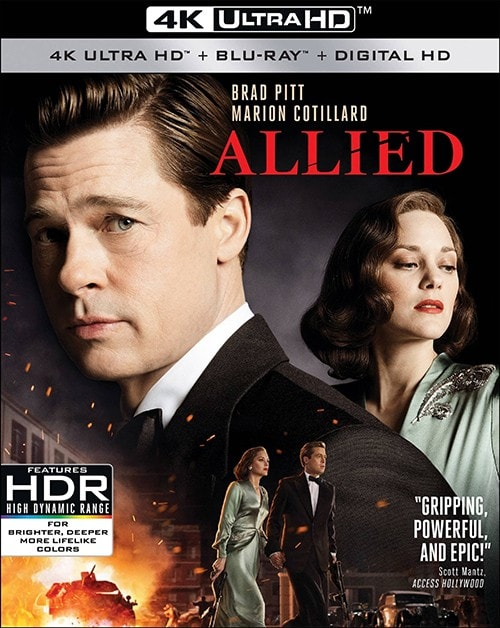 Allied 2016 Multi 2160p 4k Ultra HD BluRay
