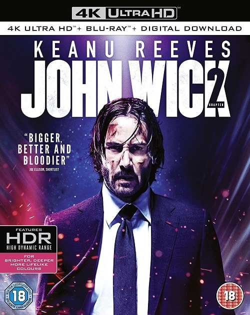 John Wick: Chapter Two 4K Ultra HD BluRay