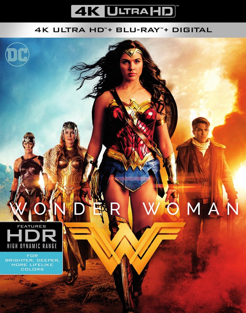 Wonder Woman 2017 HDR 4k Ultra HD 2160P BluRay