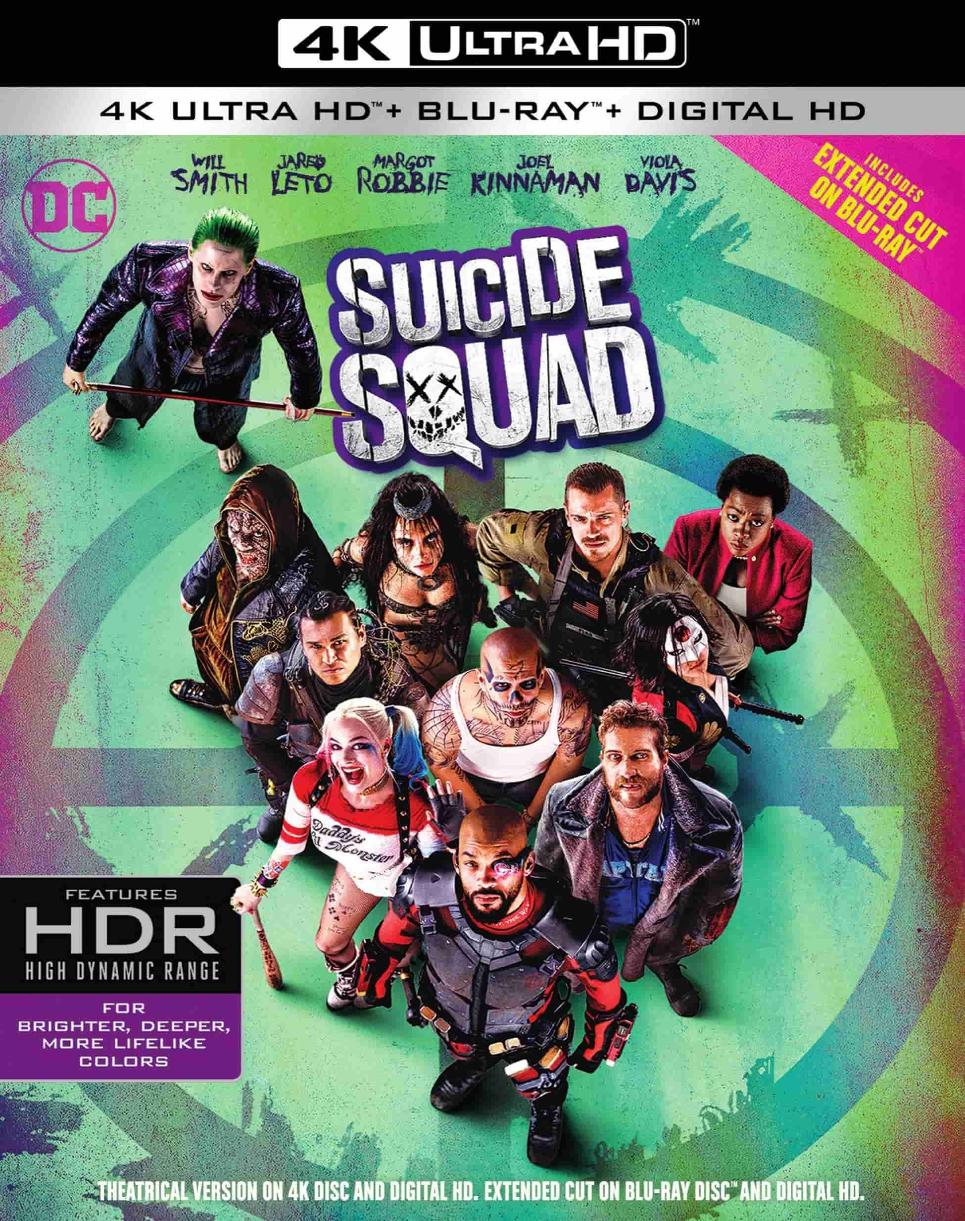 Suicide Squad 2016 MULTi UHD 2160p Blu-ray HDR ATMOS 7.1 HEVC-DDR