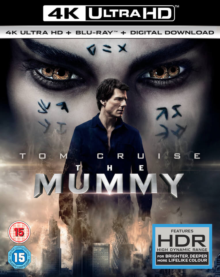 The Mummy 2017 BluRay 4k UltraHD