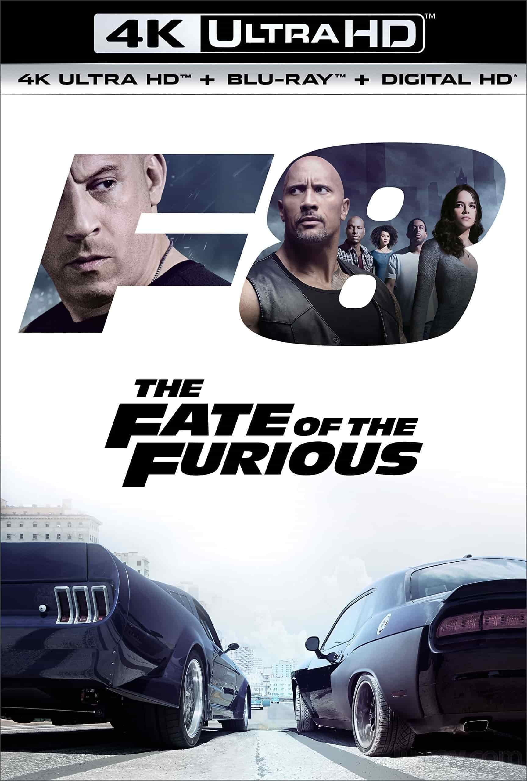 The Fate of the Furious 4K 2017