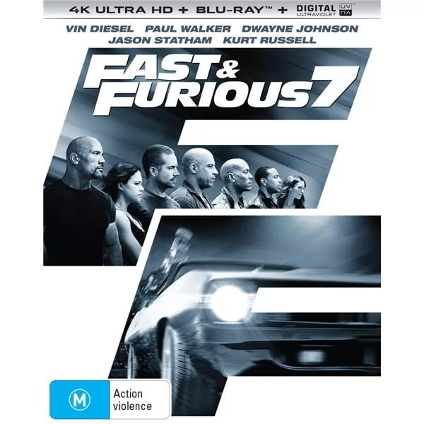 Furious Seven (2015) 4K UHD BluRay REMUX
