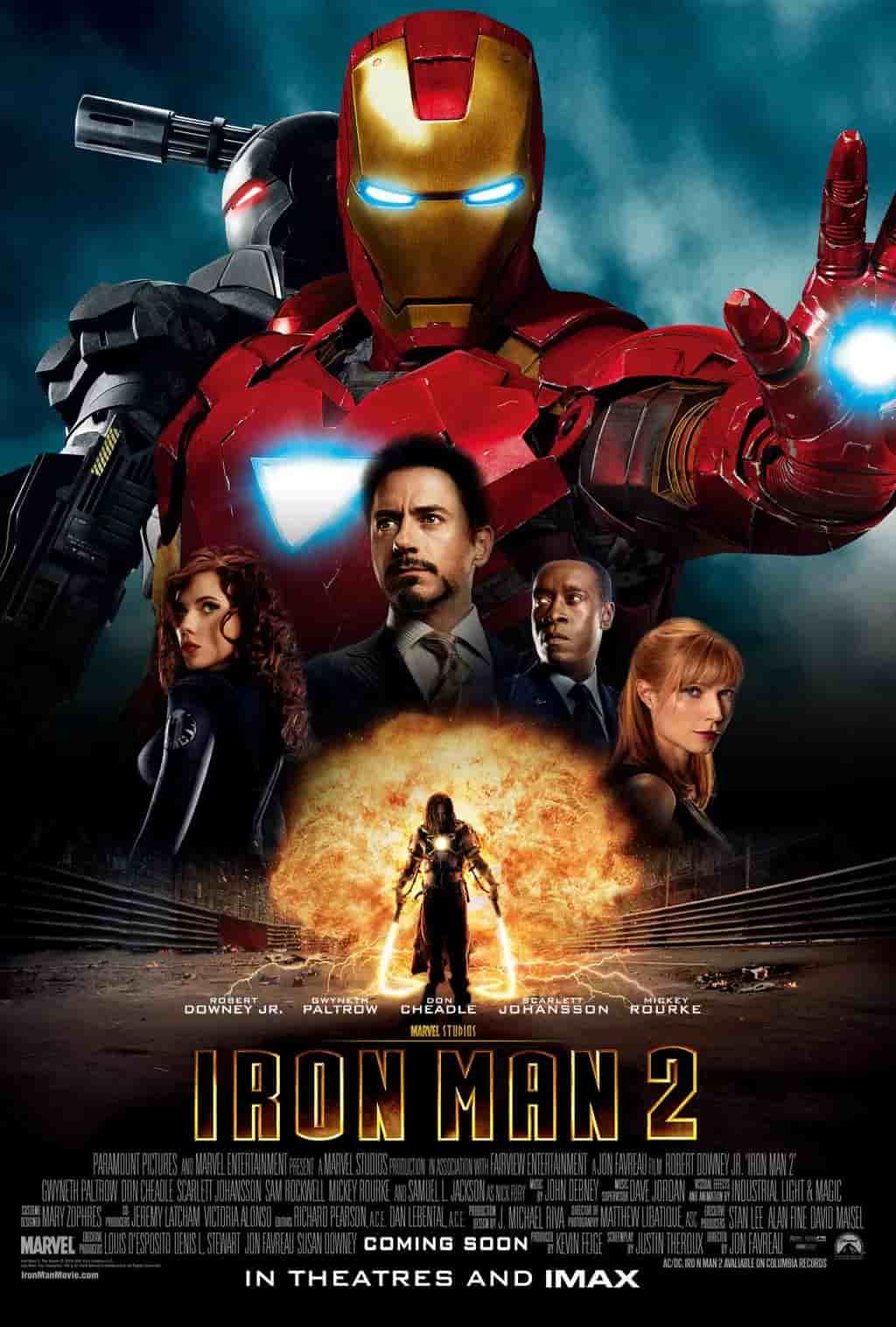 Iron Man 2 (2010) 2160P BluRay REMUX HEVC