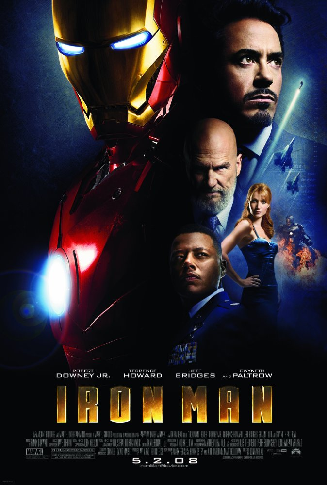Iron Man 2008 Blu-Ray REMUX 2160P