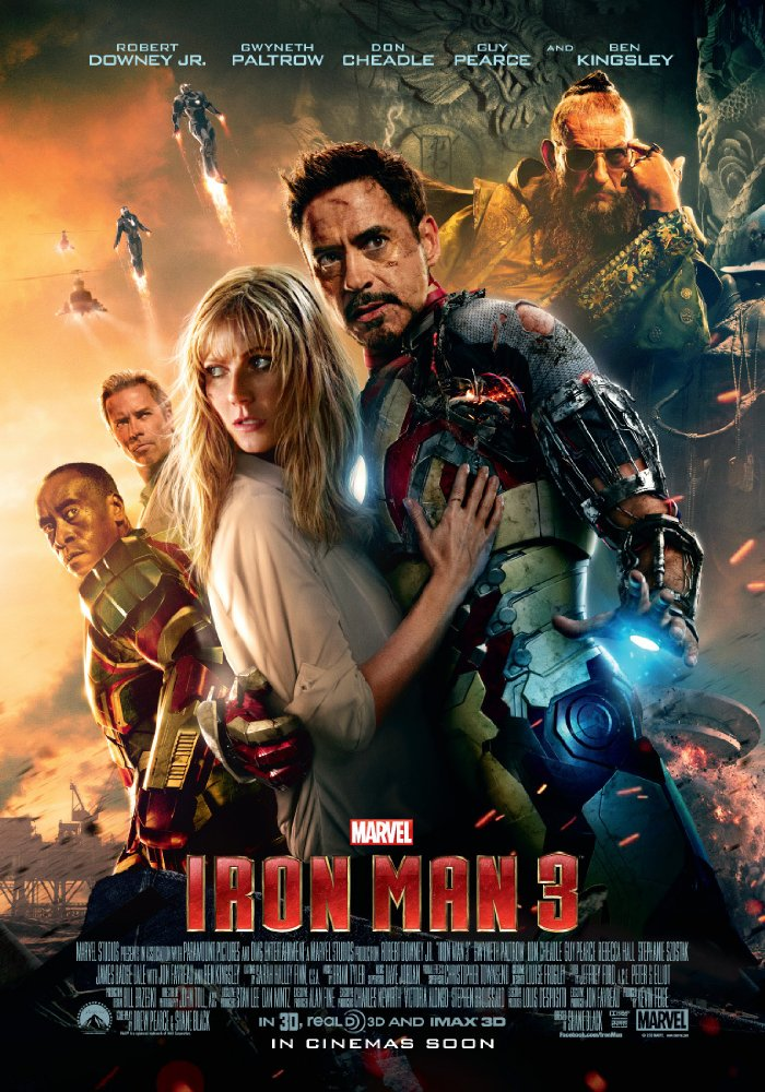Iron Man 3 4K 2013 Ultra HD 2160P