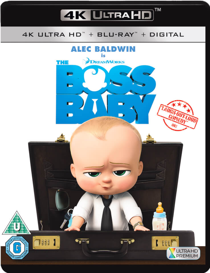 The Boss Baby (2017) 4K 2160P Ultra HD