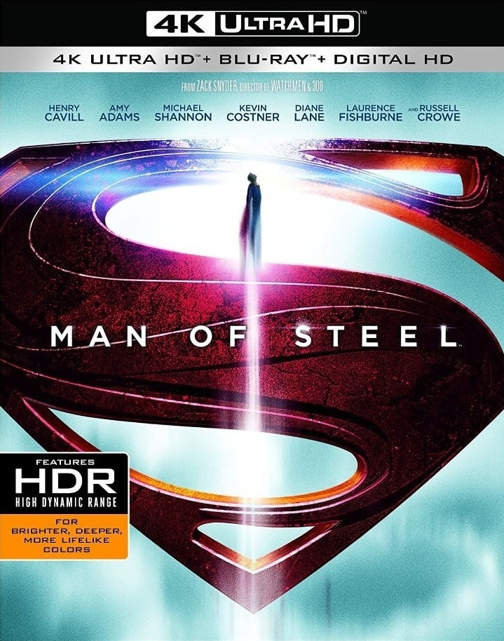 Man Of Steel 4K 2013