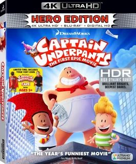 Captain Underpants: The First Epic Movie (2017) 2160P 4K UHD