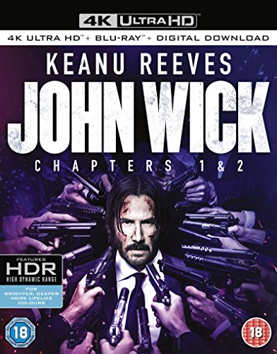 John Wick 2014 / John Wick: Chapter 2 4K 2017 Blu-Ray
