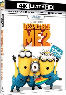 Despicable Me 2 (2013) 4k Ultra HD Blu-ray