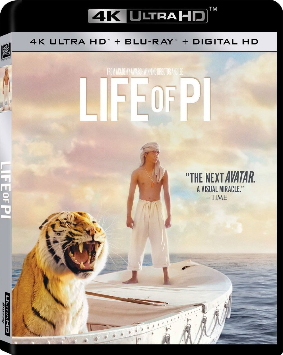 Life of Pi 2012 4K Ultra HD Blu-Ray