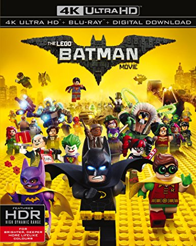 The LEGO Batman Movie 2017 Ultra HD 2160P