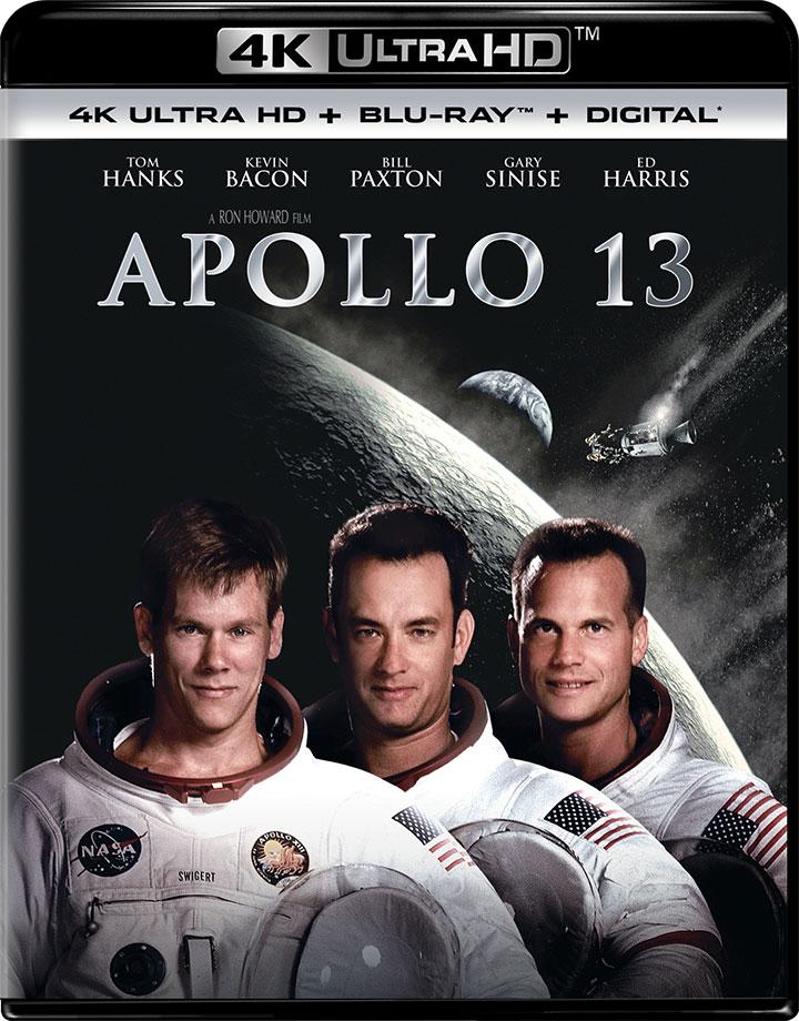 Apollo 13 (1995) 4K Ultra HD 2160P Blu-Ray