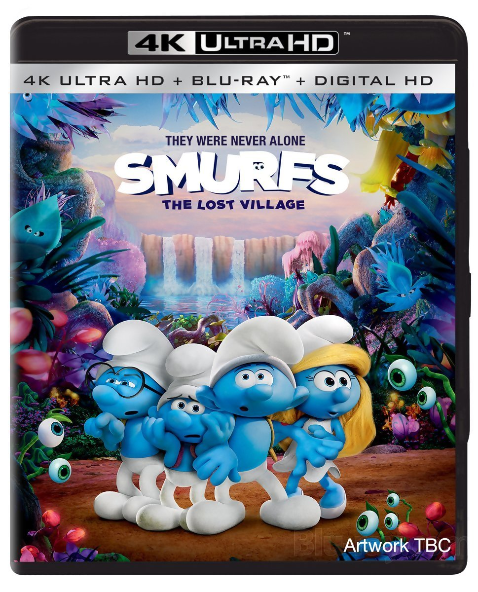 Smurfs The Lost Village (2017) 4K Ultra HD Blu-Ray