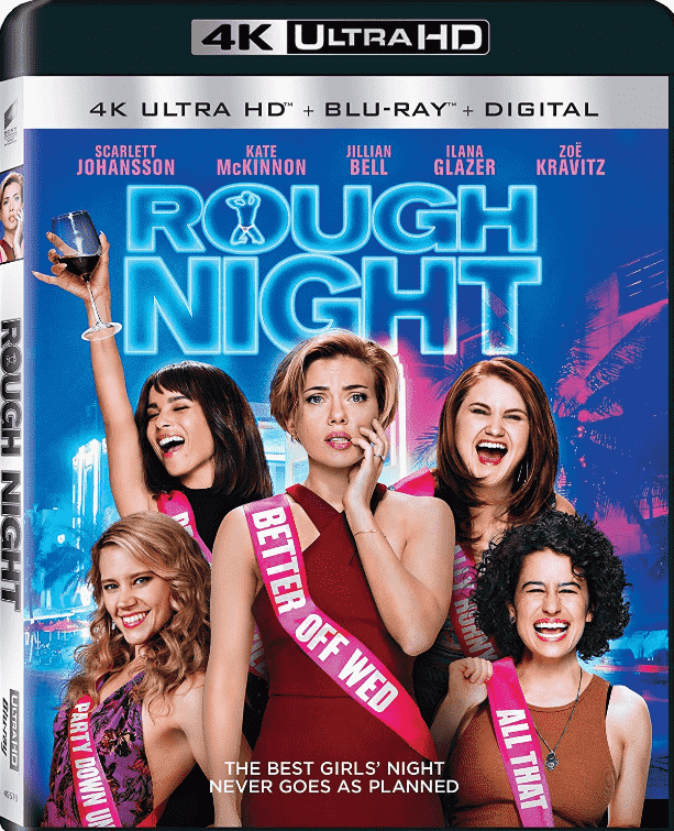 Rough Night (2017) 4K Ultra HD REMUX