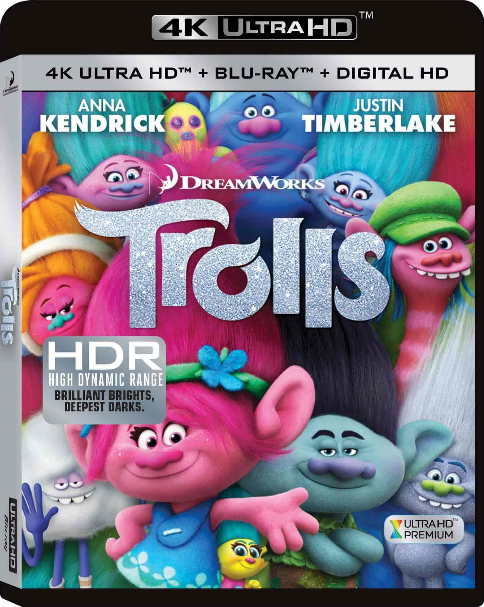 Trolls (2016) 4K Ultra HD Blu-Ray HDR10