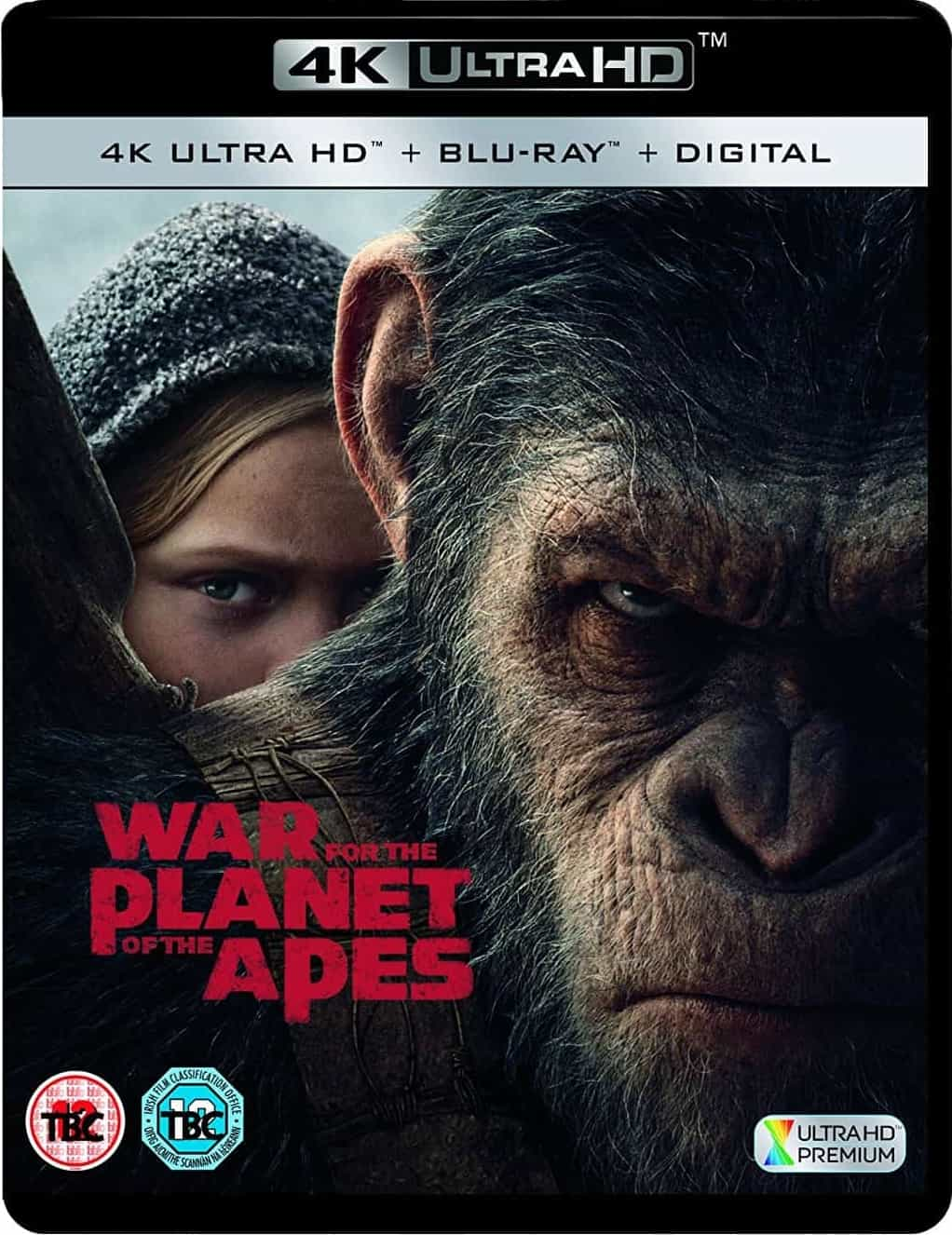 War for the Planet of the Apes 4K 2017