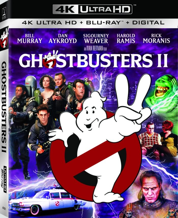 Ghostbusters II (1989) 4K Ultra HD 2160P