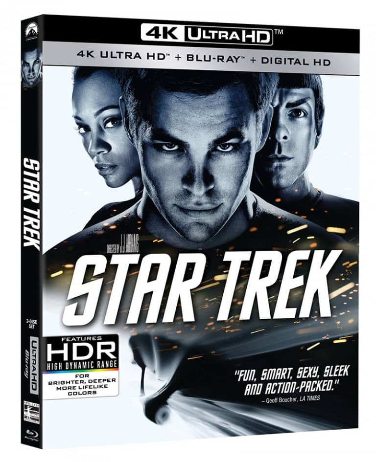 Star Trek (2009) 4K UHD 2160P Blu-ray