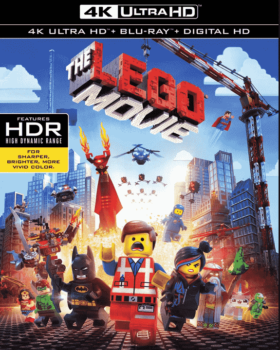 The LEGO Movie 4K 2014