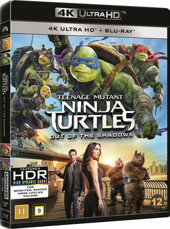 Teenage Mutant Ninja Turtles Out of the Shadows 2016 4K 2160p REMUX Blu-ray