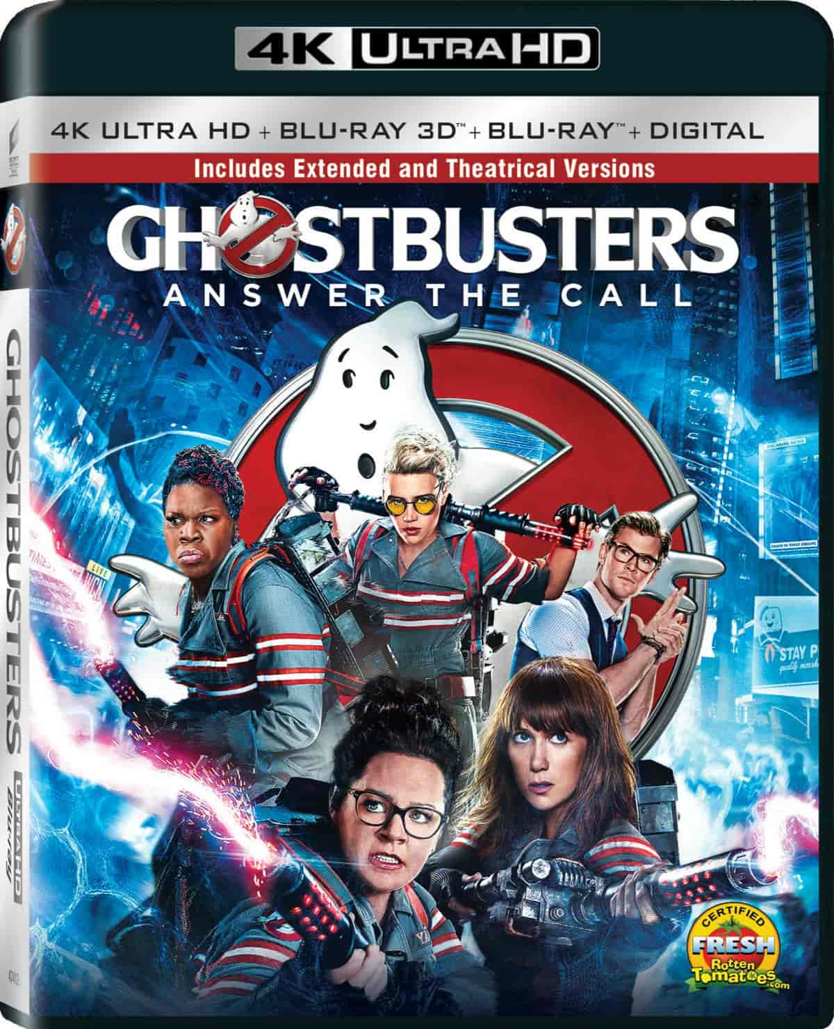 Ghostbusters 2016 EXTENDED Ultra HD Blu-ray 4K 2160p
