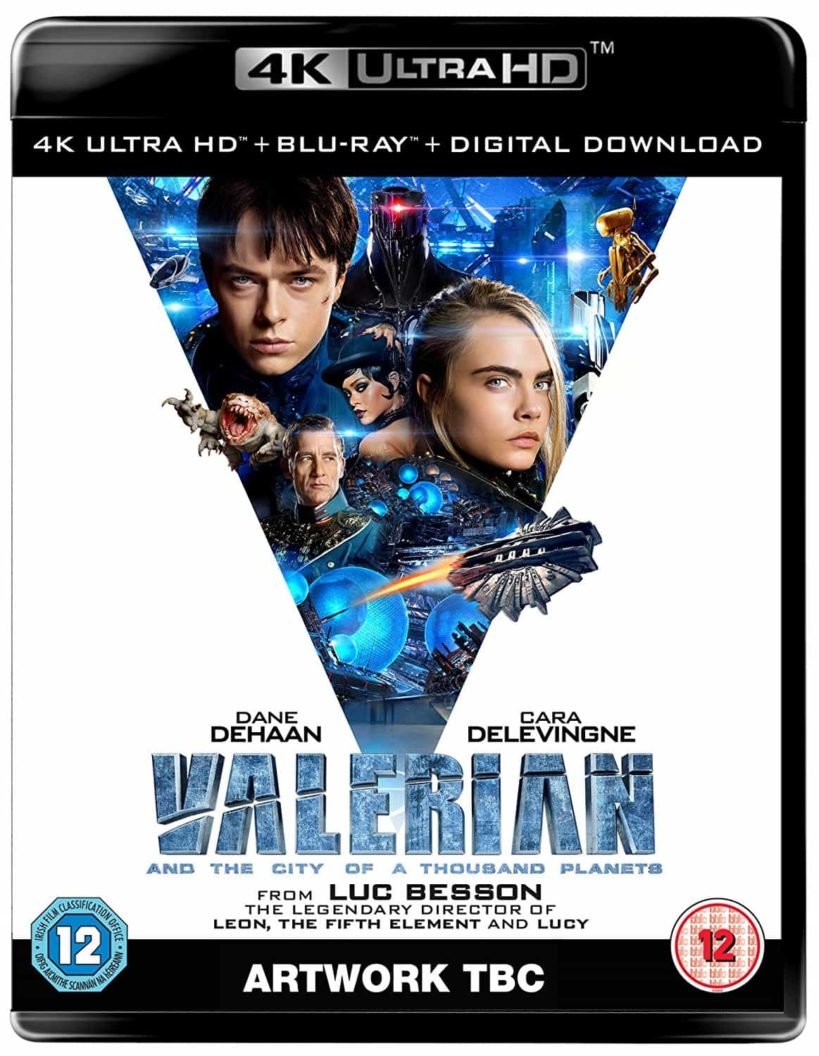 Valerian and the City of a Thousand Planets 4K 2017