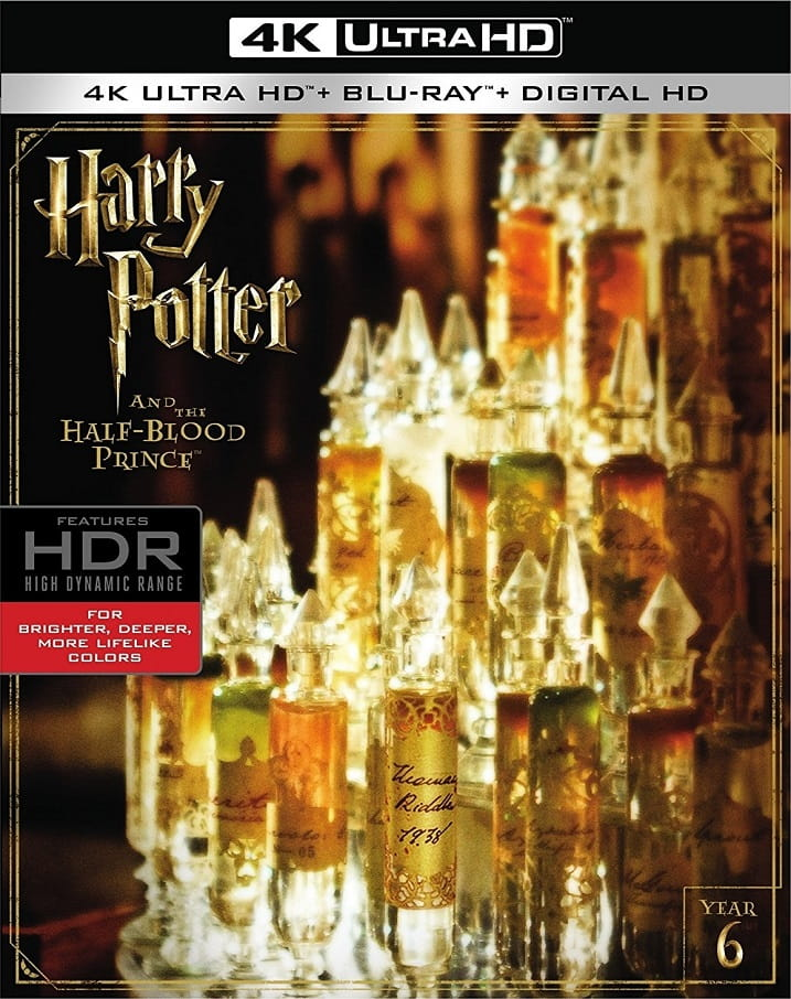 Harry Potter and the Half-Blood Prince 4K 2009