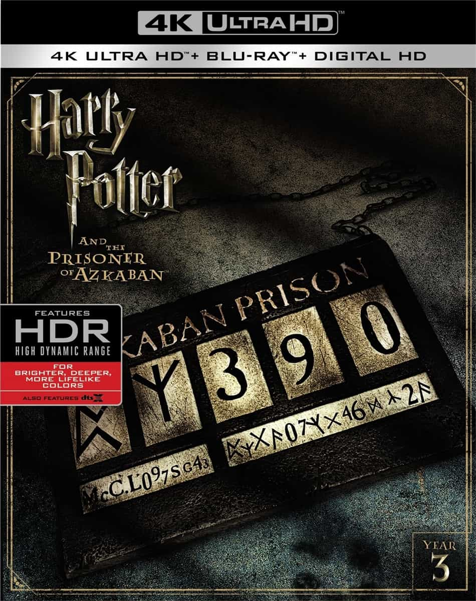 Harry Potter and the Prisoner of Azkaban 2004 4K UHD Blu-ray REMUX