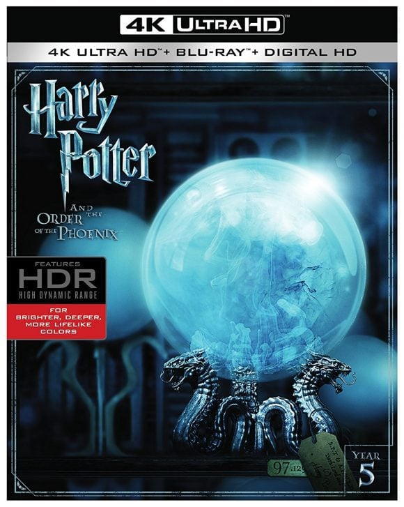 Harry Potter 8-Film Collection 4K Blu-ray 2001-2011 REMUX