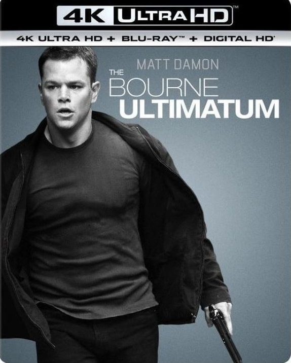 The Bourne Ultimatum 4K Blu-ray 2007 REMUX Ultra HD 2160p
