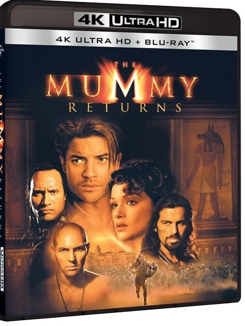 The Mummy Returns 4K 2001 Ultra HD 2160P