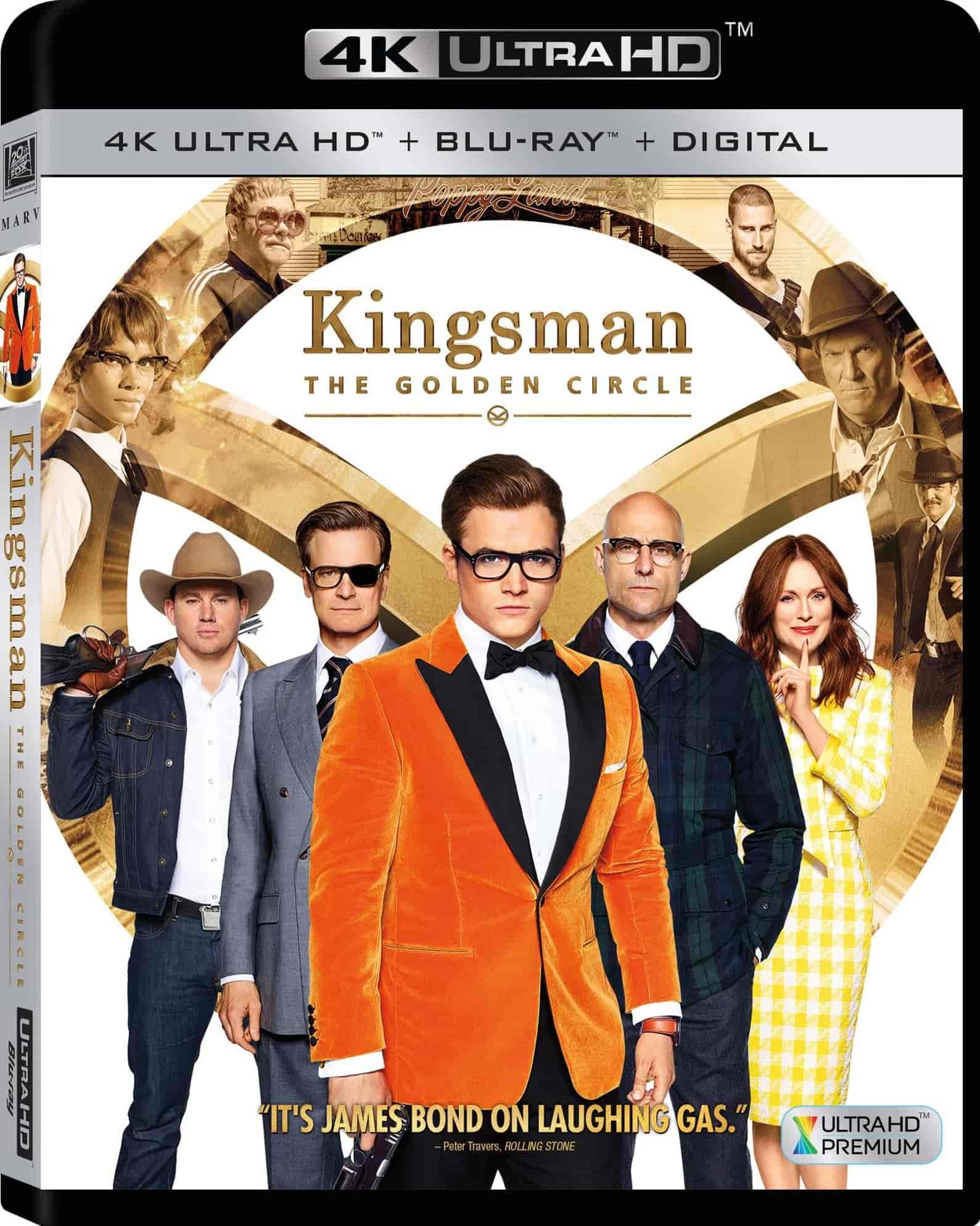 Kingsman The Golden Circle 4K 2017