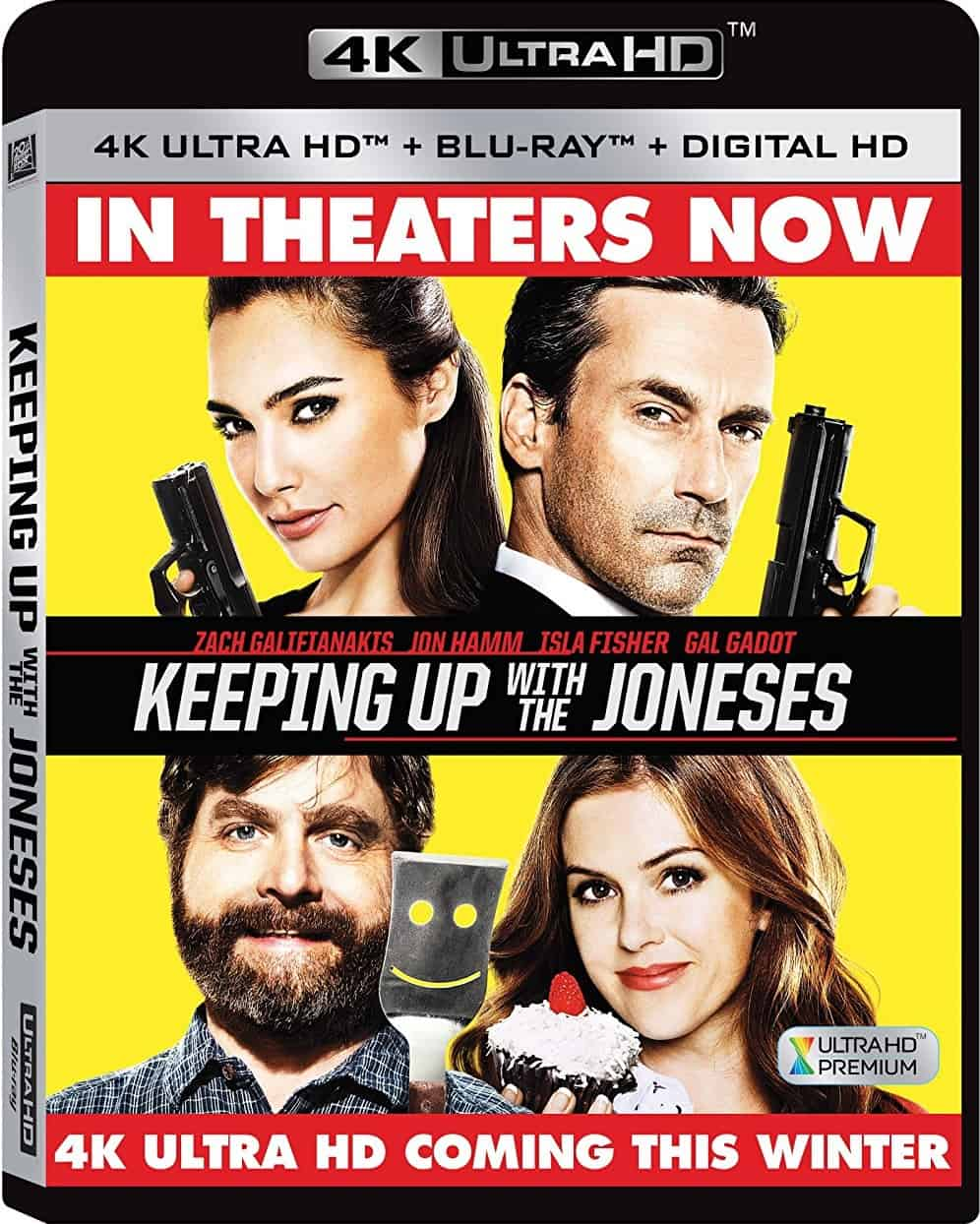 Keeping Up with the Joneses 4K 2016 Ultra HD 2160p