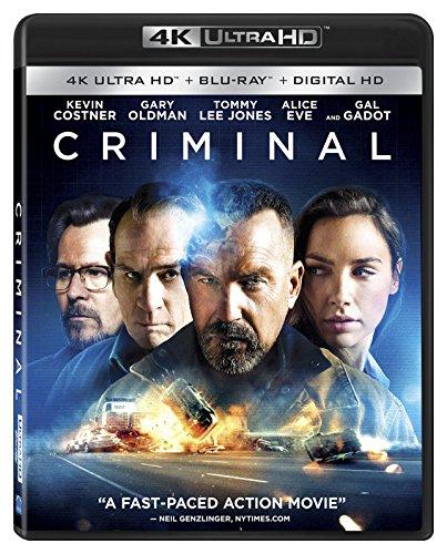 Criminal 4K 2016 Ultra HD 2160p