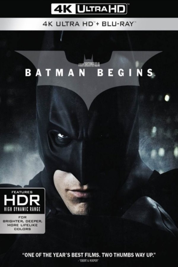 Batman Begins 4K 2005