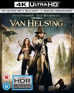 Van Helsing 4K 2004 Ultra HD 2160p