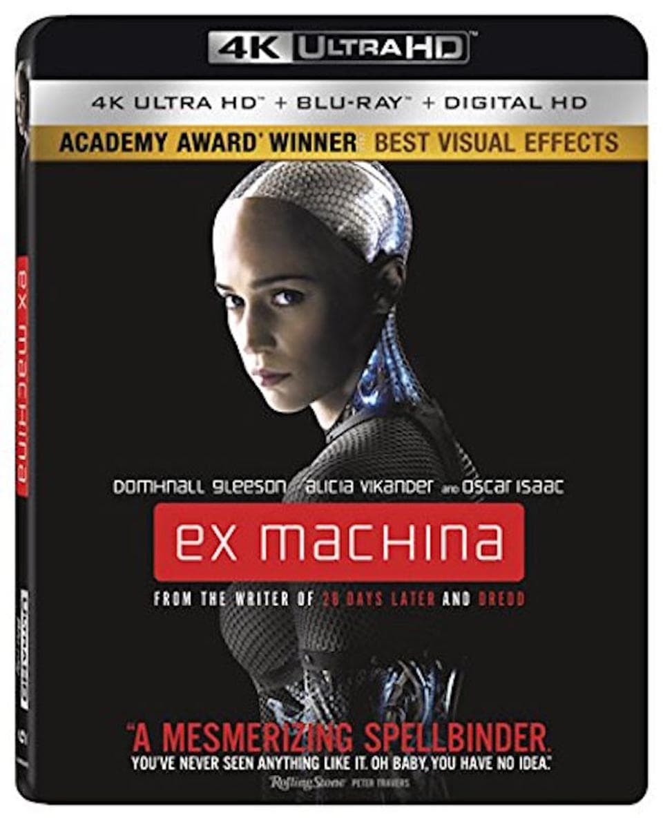 Ex Machina 4K 2014 Ultra HD 2160p