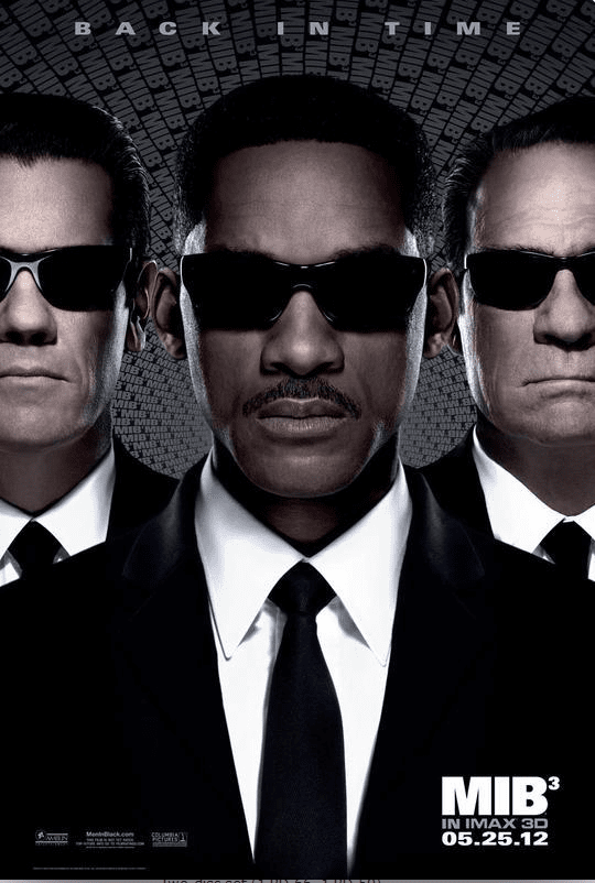 Men in Black 3 4K 2012