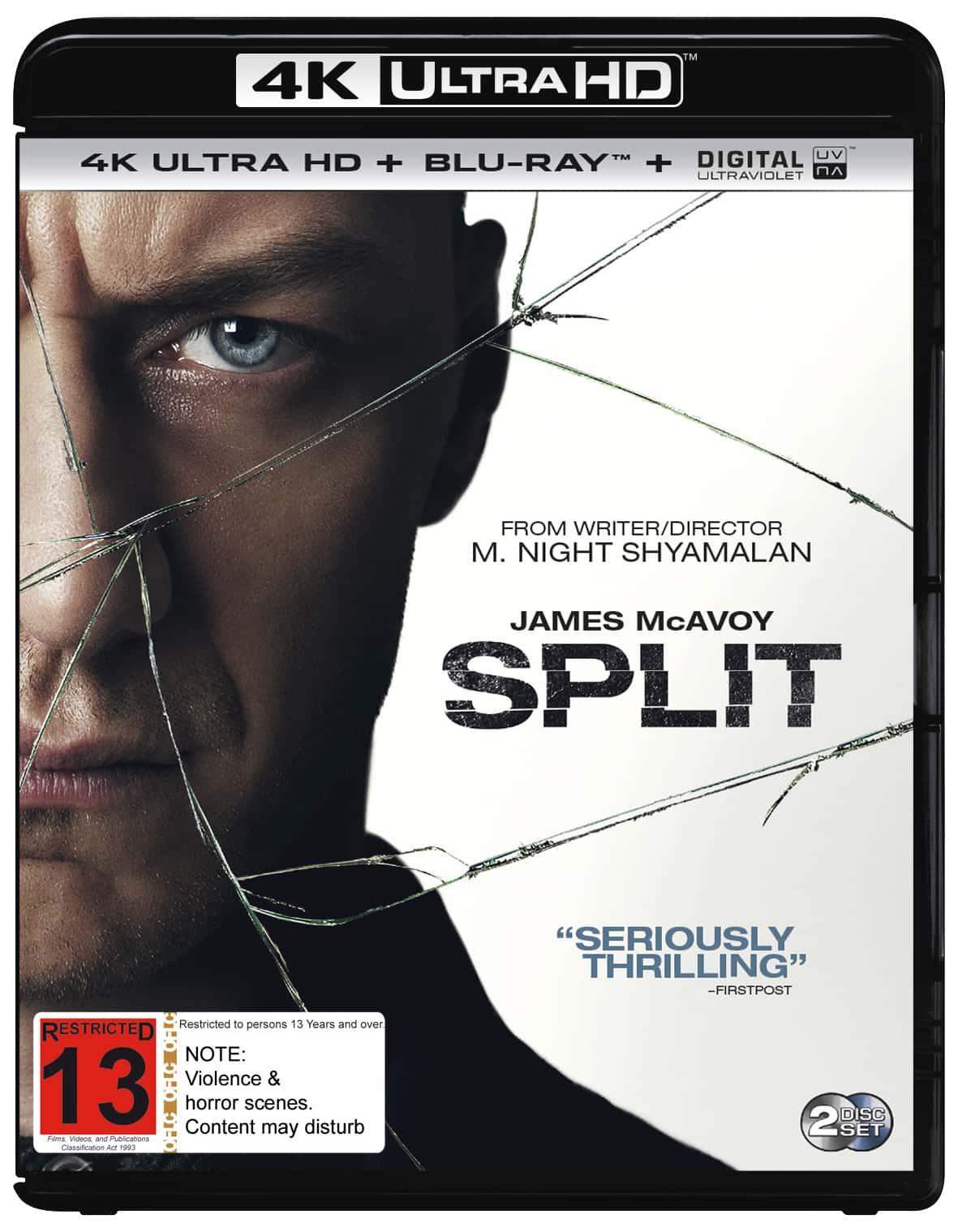 Split 4K 2016 Ultra HD 2160p