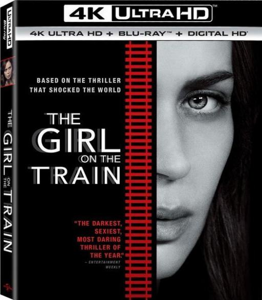 The Girl on the Train 4K 2016 Ultra HD 2160p